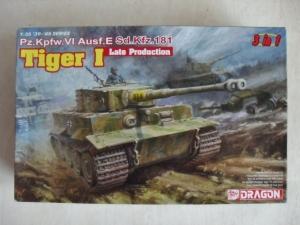 DRAGON 1/35 6406 TIGER I LATE PRODUCTION