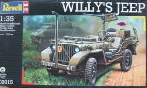 REVELL 1/35 03015 WILLYS JEEP