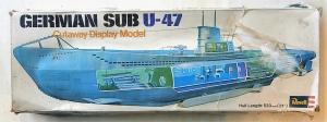 REVELL  H384 GERMAN SUB U-47