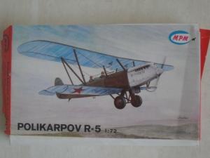 MPM 1/72 POLIKARPOV R-5  VACFORM