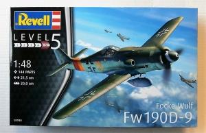 REVELL 1/48 03930 FOCKE-WULF Fw 190D-9