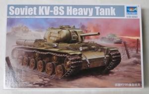 TRUMPETER 1/35 01572 SOVIET KV-8S HEAVY TANK