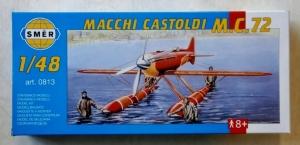 SMER 1/48 0813 MACCHI CASTOLDI M.C.72
