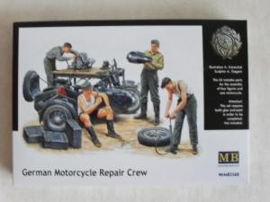 MASTERBOX 1/35 3560 GERMAN MOTORCYCLE REPAIR CREW