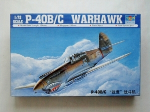 TRUMPETER 1/72 01632 P-40B/C WARHAWK