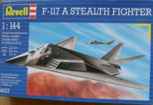 REVELL 1/144 04037 F-117 STEALTH FIGHTER