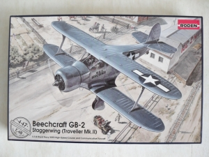 RODEN 1/48 447 BEECHCRAFT GB-2 STAGGERWING TRAVELLER Mk.II