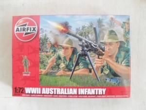 AIRFIX 1/72 01750 WWII AUSTRALIAN INFANTRY