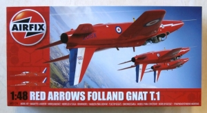 AIRFIX 1/48 05124 RED ARROWS FOLLAND GNAT T.1