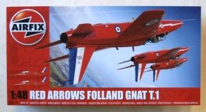 AIRFIX 1/48 05124 RED ARROWS FOLLAND GNAT T.1