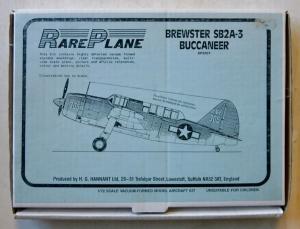 RAREPLANE 1/72 3007 BREWSTER SB2A-3 BUCCANEER