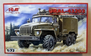 ICM 1/72 72612 URAL-43203 COMMAND VEHICLE