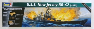 REVELL 1/350 05129 USS NEW JERSEY 1982  UK SALE ONLY