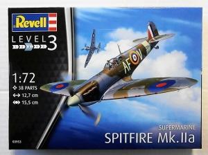 REVELL 1/72 03953 SPITFIRE Mk.IIa