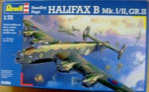 REVELL 1/72 04394 HANDLEY PAGE HALIFAX B Mk.I/II GR.II