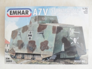 EMHAR 1/72 5003 A7V GERMAN WWI TANK