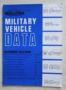BELLONA MILITARY VEHICLE DATA  MVD 11