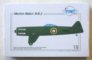 PLANET MODELS 1/72 252 MARTIN BAKER M.B.2