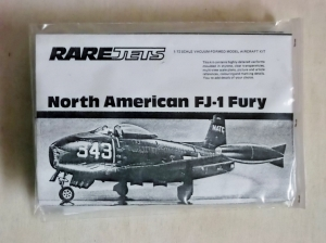 RAREPLANE 1/72 NORTH AMERICAN FJ-1 FURY