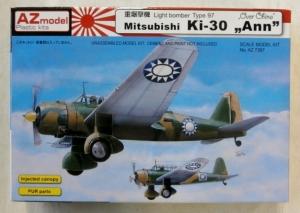 AZ MODEL 1/72 7367 MITSUBISHI Ki-30 ANN OVER CHINA