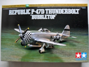 TAMIYA 1/72 60770 P-47D THUNDERBOLT BUBBLE TOP