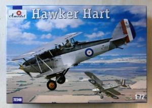A MODEL 1/72 72240 HAWKER HART