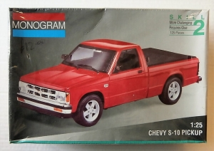 MONOGRAM 1/25 2434 CHEVY S-10 PICKUP