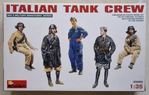 MINIART 1/35 35093 ITALIAN TANK CREW