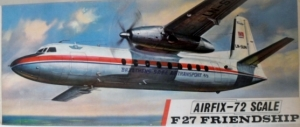 AIRFIX 1/72 583 F27 FRIENDSHIP BRAATHENS