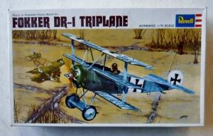 REVELL 1/72 H652 FOKKER DR-I TRIPLANE