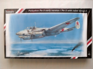 SPECIAL HOBBY 1/48 48022 PETLYAKOV Pe-3 EARLY RADAR