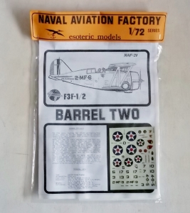 ESOTERIC 1/72 NAF-21 GRUMMAN F3F-1/2 BARREL TWO