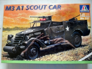ITALERI 1/35 231 M3A1 WHITE SCOUT CAR