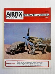 AIRFIX  AIRFIX MAGAZINE 1973 JUNE