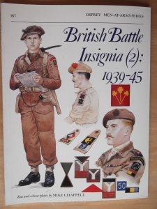 OSPREY  187. BRITISH BATTLE INSIGNIA  2  1939-45
