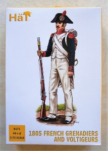 HAT INDUSTRIES 1/72 8171 1805 FRENCH GRENADIERS   VOLTIGEURS