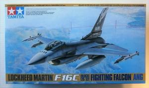 TAMIYA 1/48 61101 LOCKHEED MARTIN F-16C BLOCK 25/32 FIGHTING FALCON ANG
