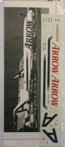 FLIGHTPATH 1/200 1301. 20181 ARROW AIR CURRENT COLORS 727-200