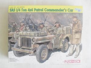 DRAGON 1/35 6724 SAS 1/4 TON 4x4 PATROL COMMANDERS CAR