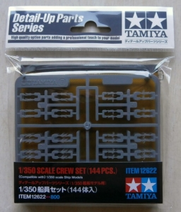 TAMIYA 1/350 12622 CREW SET 144 Pcs
