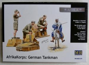 MASTERBOX 1/35 3559 AFRIKAKORPS GERMAN TANKMAN