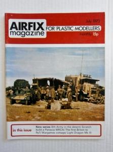 AIRFIX  AIRFIX MAGAZINE 1973 JULY