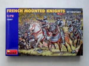 MINIART 1/72 72007 FRENCH MOUNTED KNIGHTS XV CENTURY