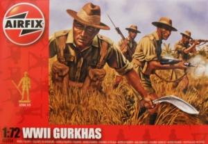 AIRFIX 1/72 01754 WWII GURKHAS