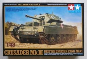 TAMIYA 1/48 32555 CRUSADER Mk.III BRITISH CRUISER TANK Mk.VI