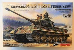 MENG 1/35 TS-031 Sd.Kfz.182 KING TIGER  HENSCHEL TURRET