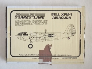RAREPLANE 1/72 RP6004 BELL XFM-1 AIRACUDA