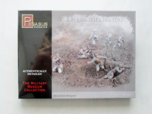 PEGASUS HOBBIES 1/72 7199 WWI FRENCH INFANTRY 1917/18