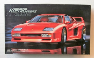 FUJIMI 1/24 12402 KOENIG SPECIALS COMPETITION