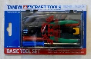 TAMIYA  74016 BASIC TOOL SET
